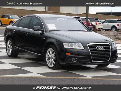 Audi : A6 Premium Plus 3.0 V6 Quattro 45 k miles used 11 audi a 6 black heated leather navigation quattro bluetooth