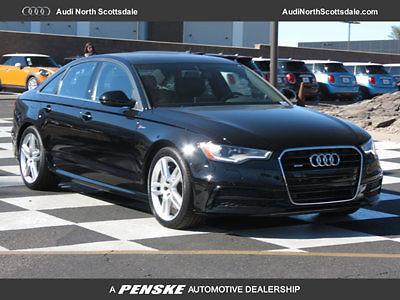 Audi : A6 Premium Plus 3.0 Quattro Sport 10 k miles used 2015 audi a 6 heated black leather awd navigation bluetooth ipod