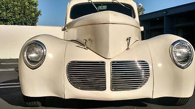 Willys : Pickup Pickup 1940 willys pickup street hot rod custom v 8 302 ford c 4 trans all steel