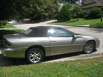 Chevrolet : Camaro Base Convertible 2-Door 2001 chevrolet camaro base convertible 2 door 3.8 l