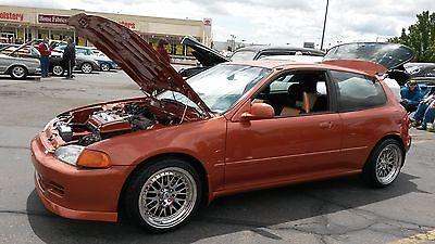 Honda : Civic 92 honda civic hatchback