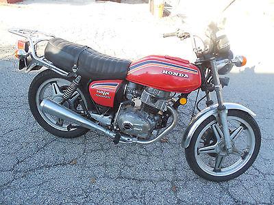 Honda : CB vtg 1978 Honda Hawk CB 400cc Nice original Condition Classic 4K