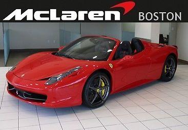 Ferrari : 458 2013 ferrari 458 spider