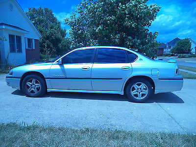 Chevrolet : Impala LS with Sunroof Leather Seats 2002 chevrolet impala ls sharp sunroof leather seats deluxe edition