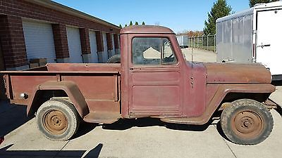 Willys : Half-ton Pickup 3 Window 1947 willy s half ton truck