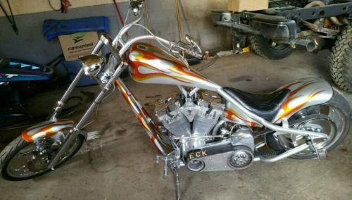 Custom Built Motorcycles : Chopper 2002 redneck engineering gettin high chopper