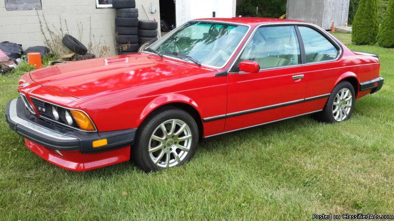 1987 BMW M6 635 csi e24