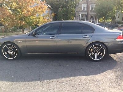 BMW : 7-Series 2007 bmv 750 li