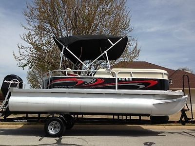 2012 Bennington 20SLI pontoon boat w/ 75HP Merc. 4-stroke, low hours, MINT