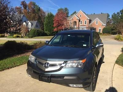 Acura : MDX Acura MDX 4 wheel,  entertainment package, blue