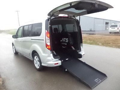 Ford : Transit Connect XLT 2014 ford transit xlt handicap wheelchair van rear entry conversion