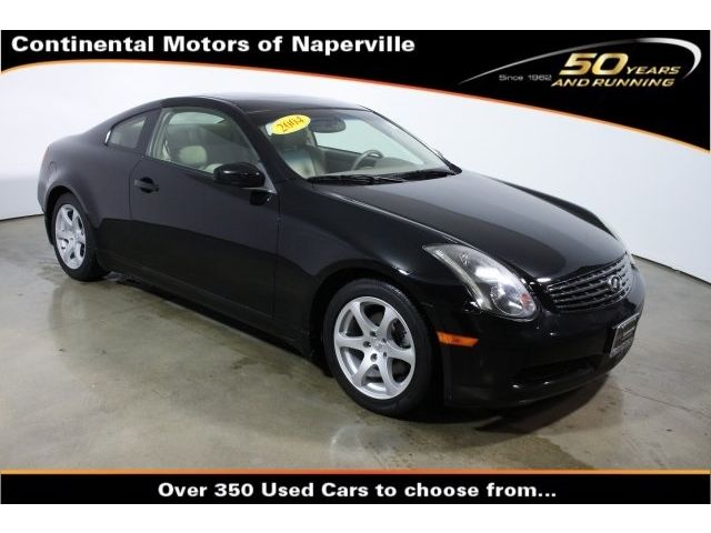 Infiniti : G Coupe Coupe 3.5L CD 6 Speakers AM/FM Cass w/6-Disc In-Dash CD Autochanger AM/FM radio