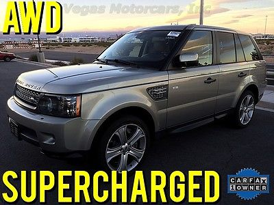 Land Rover : Range Rover Sport Supercharged Sport Utility 4-Door 2011 supercharged range rover sport