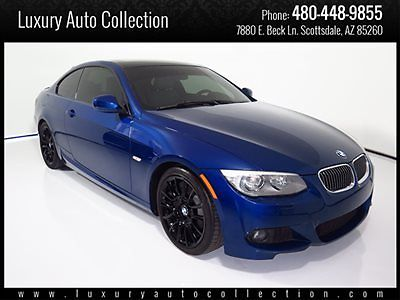 BMW : 3-Series M-Sport 12 bmw 328 i coupe 28 k miles m sport navigation heated seats rear spoiler 13