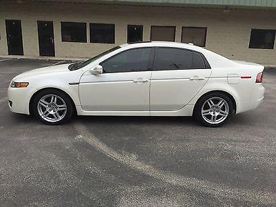 Acura : TL Base 2008 acura tl 3.2 l sedan base pearl white