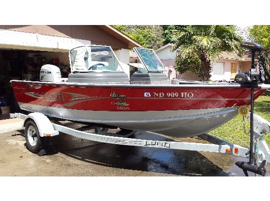2008 Lund 1675 Explorer Sport 60th Anniversary Crappie Edition