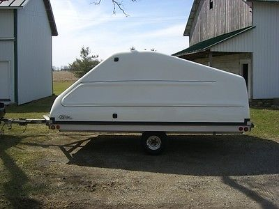 Top Cat two place snowmobile trailer