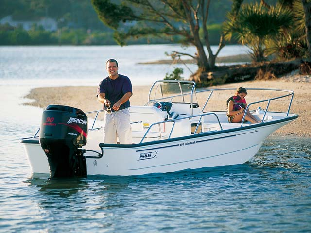 Boston Whaler Montauk 170 Boats For Sale In Maine