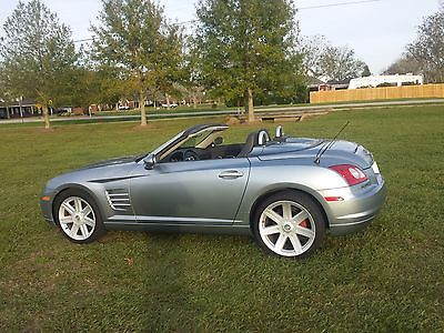 Chrysler : Crossfire Limited 2005 chrysler crossfire limited convertible