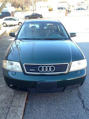 Audi : A6 Base Sedan 4-Door 2001 audi a 6 quattro base sedan 4 door 2.7 l