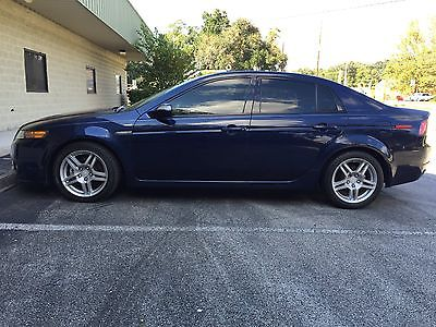 Acura : TL Base Sedan 2007 acura tl 3.2 l base sedan navy blue