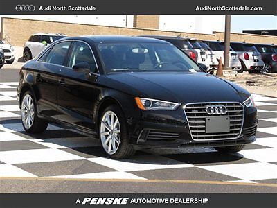 Audi : A3 Premium Plus Quattro Navigation New Audi A3 FWD Heated Black Leather Bluetooth Audio Sirius XM Pano Roof