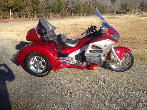 2012 Honda Gold Wing AUDIO COMFORT Trike