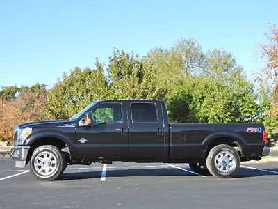 Ford : F-250 Lariat Ford Super Duty F-250 Lariat Low Miles 4 dr Crew Cab Truck Automatic Diesel 6.7L