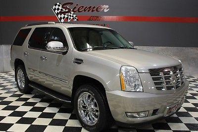 Cadillac : Escalade awd silver, awd,