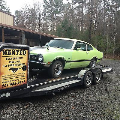 Ford : Other GRABBER 1971 ford maverick grabber v 8 auto a c