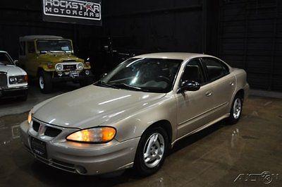Pontiac : Grand Am SE sedan 2004 se sedan used 2.2 l i 4 16 v automatic fwd sedan