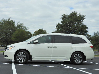 Honda : Odyssey 5dr Touring Elite 5 dr touring elite honda odyssey touring elite low miles 4 dr van automatic gasol
