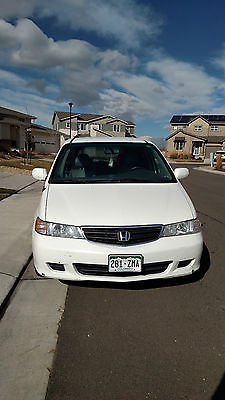 Honda : Odyssey EX Mini Passenger Van 5-Door 2004 ex white honda odyssey with leather dvd player good condition 150 000 miles