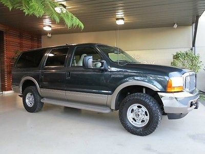 Ford : Excursion FreeShipping Excursion 7.3L Diesel 4X4 Limited 132K Miles! Excellent Condition! 1 Owner Clean