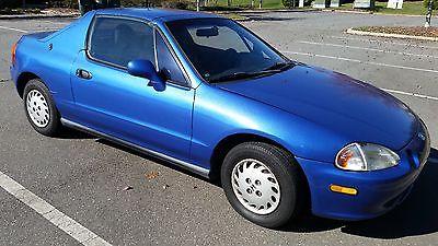 Honda : Del Sol 1993 honda del sol
