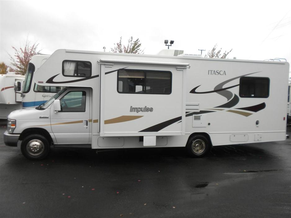 2008 Itasca Impulse 26FT W/SLIDE ONLY 18622 ACTUAL MILES