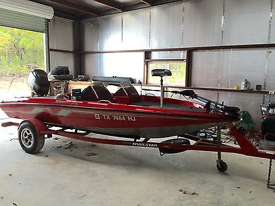 1994 Nitro 17' Bass Boat 'Rick Clunn Edition' 90 hp Mercury LOW HOURS