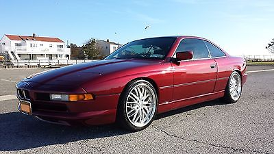 BMW : 8-Series 1991 bmw 850 i 6 speed