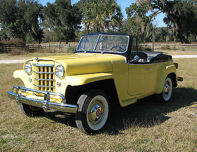 Willys : Jeepster concours Restoration 1951 willys overland jeepster concours restoration