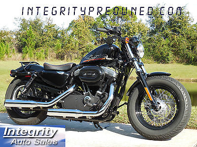 Harley-Davidson : Sportster 2011 harley davidson xl 1200 x forty eight immaculate bike