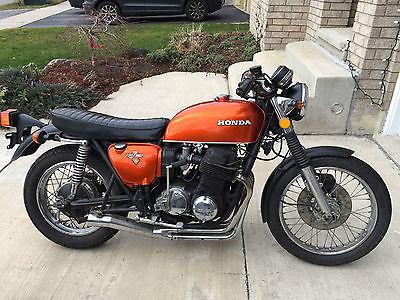 Honda : CB 1972 honda cb 750 four mint condition totally restored