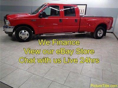 Ford : F-350 Lariat 2WD Dually Crew 7.3 Powerstroke Diesel 02 f 350 lariat 2 wd dually crew cab 7.3 powerstroke diesel we finance texas