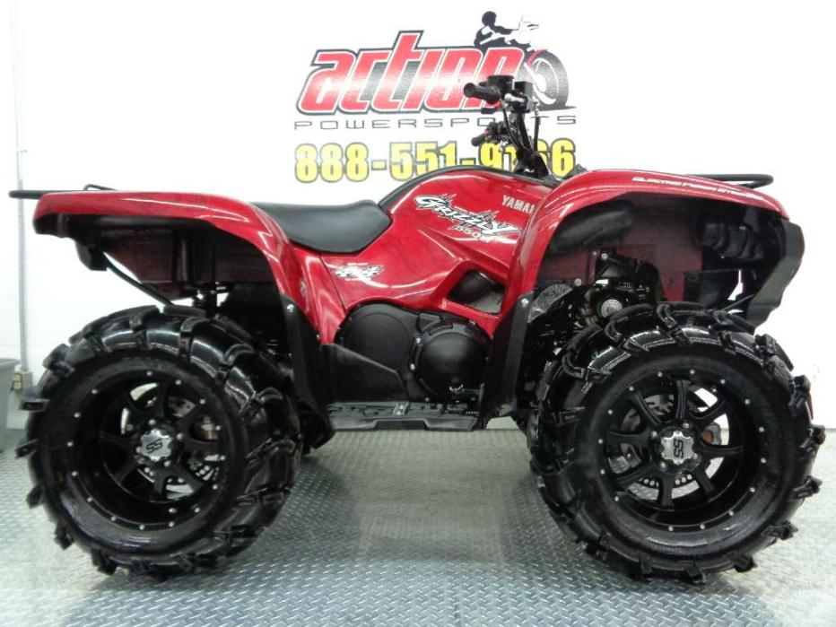 Yamaha grizzly 550 eps 4x4 motorcycles for sale for 2014 yamaha grizzly 550 for sale