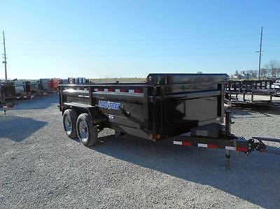 Load Trail 14' ft Dump Trailer 14000 LB GVWR 3 Way Gate Tarp, LED,  83X14 dump