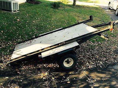 5X8 Tilt Trailer With Title