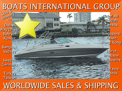 2007 SEA RAY 270 SD TOWER TEAK PLATFORM 496 MAG LOADED We Ship/Export Worldwide