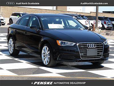 Audi : A3 Drivers Assist Quattro Navigation Premium Plus New Audi A3 AWD Navigation Bluetooth Black Leather Pano Roof Sirius XM