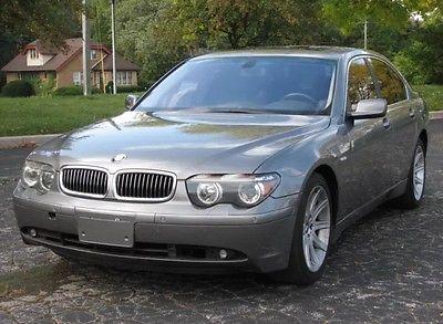 BMW : 7-Series 2002 bmw 745 i