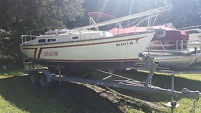 Newport Neptune  24' With Life Raft and Anchor and Trailer included