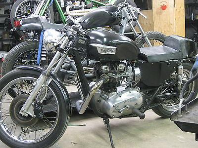 Triumph : Bonneville 1976 triumph bonneville t 140 v cafe racer 750 cc 5 speed left shift